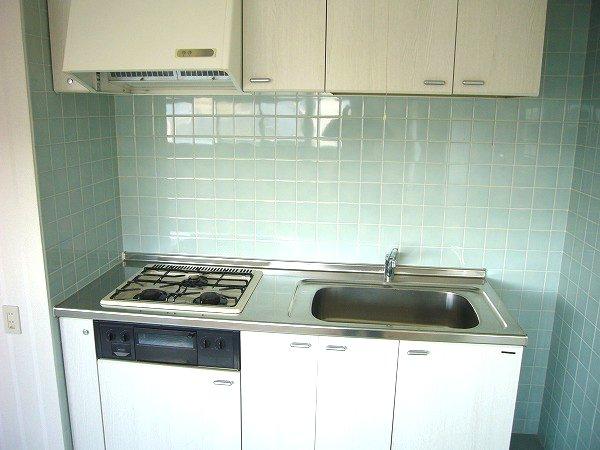 ナヴィール北久里浜 5002号室のキッチン