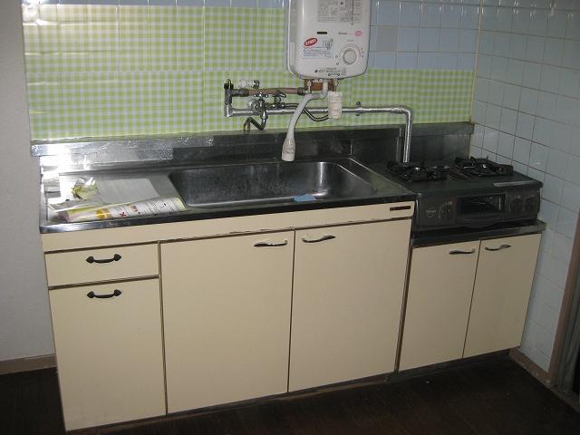 ガーベラマンション汐入 405号室のキッチン