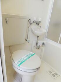 ビラ・リバーサイド多摩川 203号室のトイレ