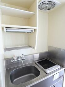 TOP高輪台 406号室のキッチン