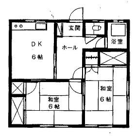 鈴木アパート・101号室の間取り