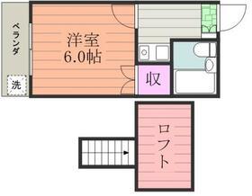 マックハイツ松戸第2・0102号室の間取り