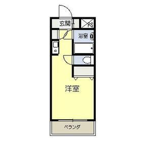 ヒュ-マンアカデミ-ハウジングⅠ・402号室の間取り