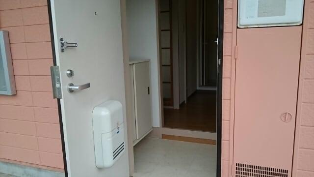 アーククロス 01030号室の玄関