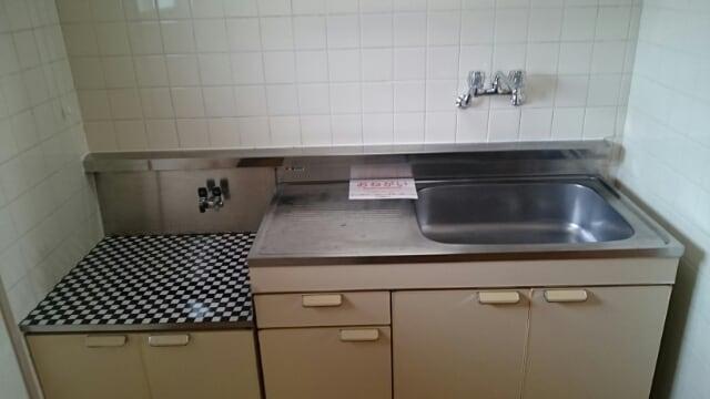 アーククロス 01030号室のキッチン