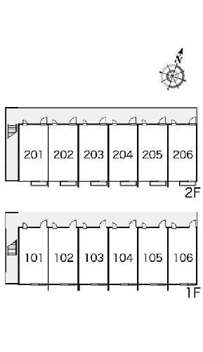レオパレスKMティーダ 104号室のその他