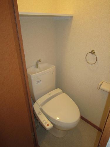 レオパレスグリュ 204号室のトイレ