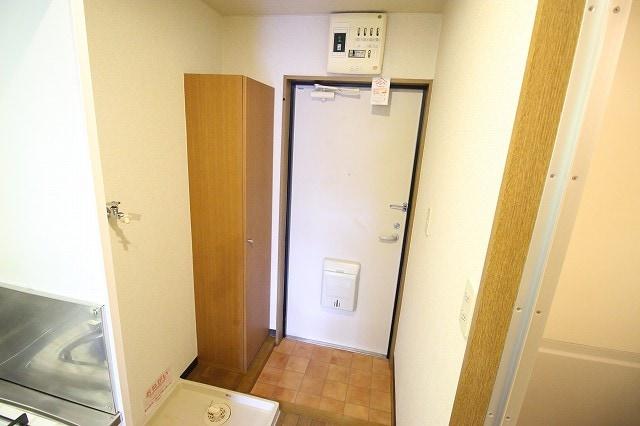 レスポアール城南 01020号室のセキュリティ