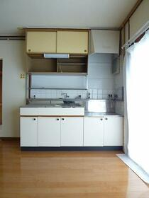 山文ビル 302号室の洗面所