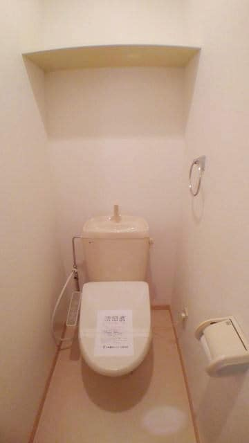 エスポワール由布 01020号室のトイレ