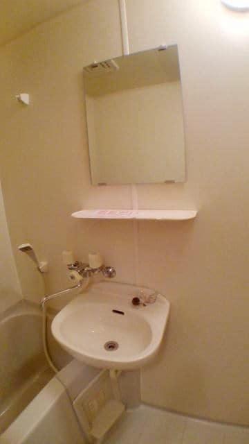エスポワール由布 01020号室の洗面所