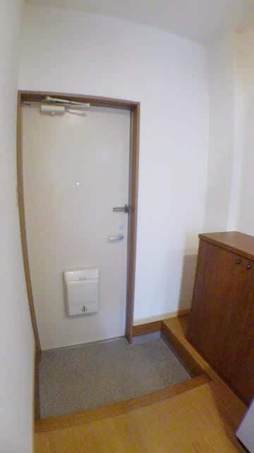 エスポワール由布 01020号室の玄関