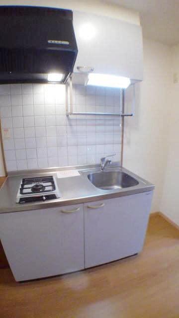 エスポワール由布 01020号室のキッチン