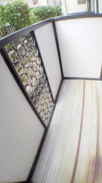 エスポワール由布 01020号室のバルコニー