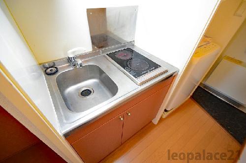 レオパレスアベニュー赤坂 102号室のキッチン