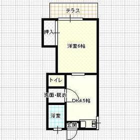 今城アパート・103号室の間取り