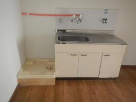 西木戸コーポ 2号室の洗面所