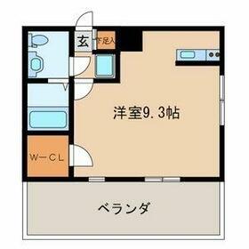 第21川崎ビル・705号室の間取り