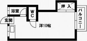コーポワダ・202号室の間取り