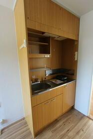 ドリームパレス香椎Ⅱ 0205号室のキッチン
