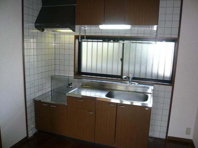 SUE STATIONハイツ 201号室のキッチン