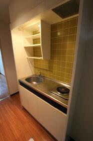 メゾン・ド・クレマン 0107号室のキッチン