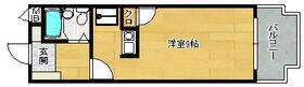 パールマンション長尾 405号室の間取り