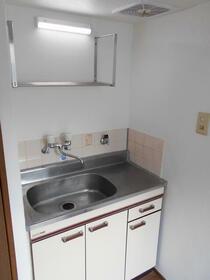 ニューホワイト干隈 202号室のキッチン