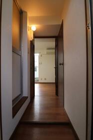 ニューホワイト干隈 202号室の玄関
