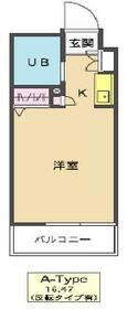 メゾン・ド・シャンテ 0315号室の間取り