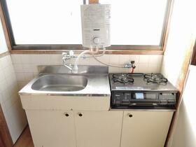 梅林ハイム 201号室のキッチン