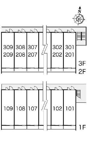 レオパレスプロスパ 203号室のその他