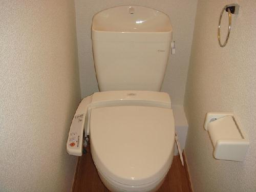 レオパレスプロスパ 203号室のトイレ