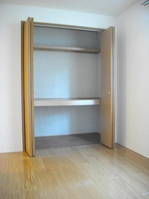 ヴィラ清水Ⅱ番館 01010号室の収納