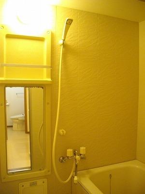 ヴィラ清水Ⅱ番館 01010号室の風呂