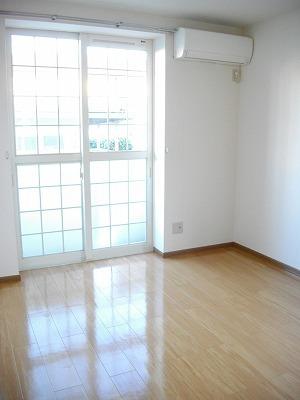 ヴィラ清水Ⅱ番館 01010号室のリビング