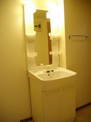 ヴィラ清水Ⅱ番館 01010号室の洗面所