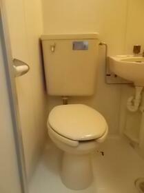 足利第2レジデンス 102号室のトイレ