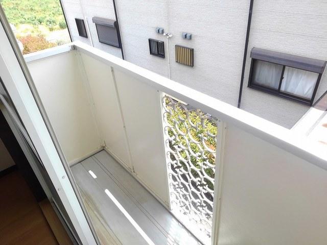 トキタハイツ 02020号室のバルコニー