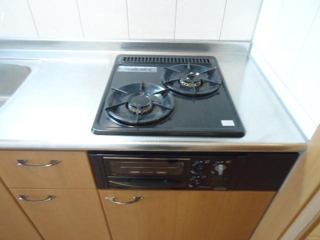 グレイス・ワン 205号室のキッチン
