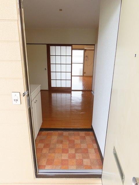 シティハイツ丸山 02020号室の玄関