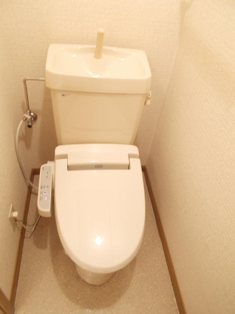 クレール 02030号室のトイレ