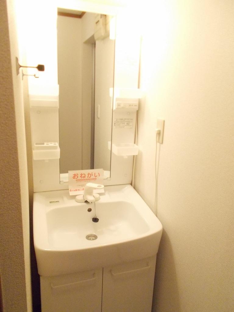クレール 02030号室の洗面所