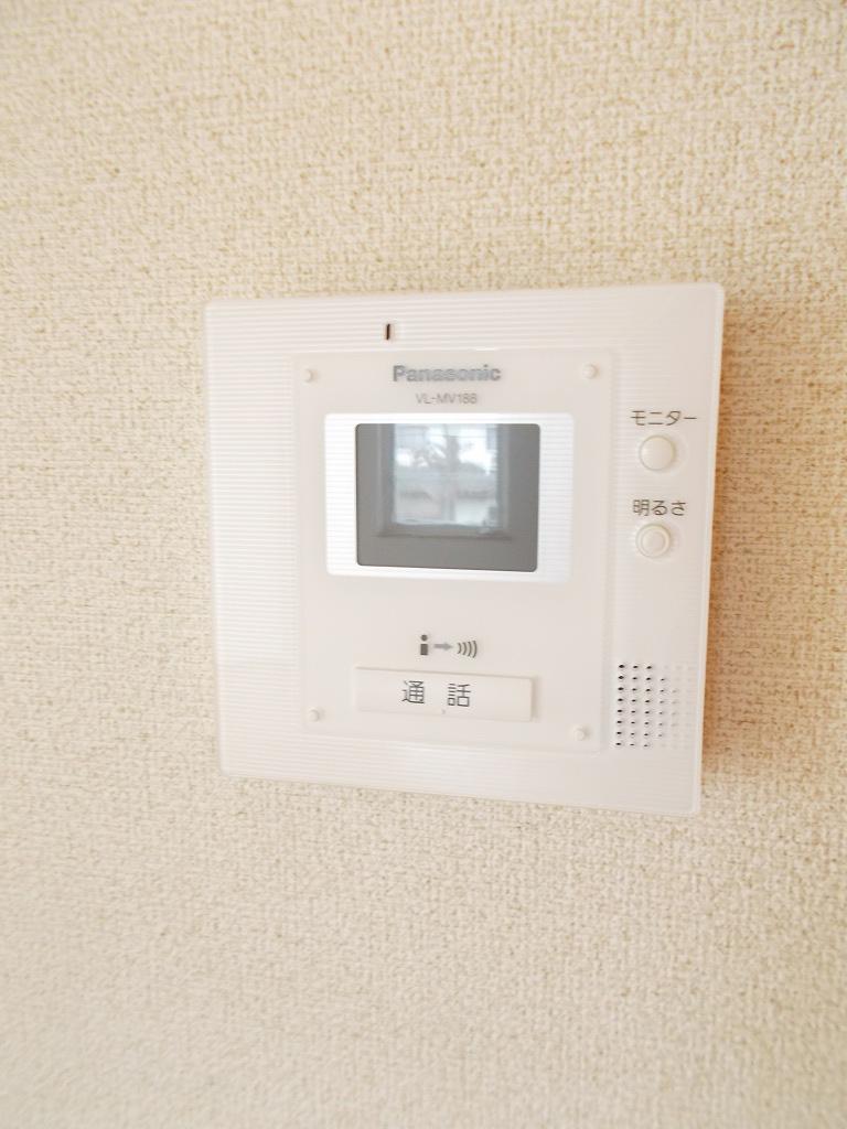 クレール 02030号室のセキュリティ