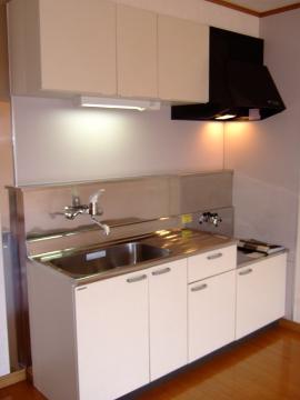 アリスト・ヴィラK A棟 202号室のキッチン