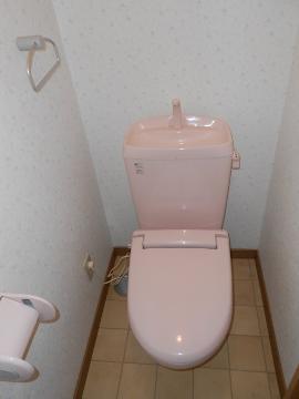 アリスト・ヴィラK A棟 202号室のトイレ