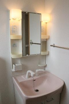 アリスト・ヴィラK A棟 202号室の洗面所