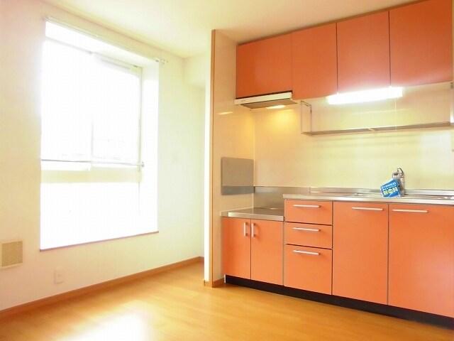 ヴィラ アンベル 02020号室のキッチン