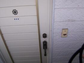 スカイメゾン新松戸 203号室の玄関