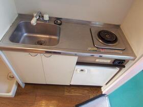 スカイメゾン新松戸 203号室のキッチン